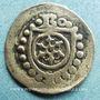 Coins Archevêché de Mayence. Berthold d'Henneberg (1484-1504). Hohlpfennig
