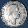Coins Bade. Frédéric I, grand duc (1856-1907). 1/2 gulden 1861