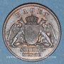 Coins Bade. Frédéric I, grand duc (1856-1907). 1/2 kreuzer 1859