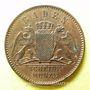 Coins Bade. Frédéric I, grand duc (1856-1907). 1/2 kreuzer 1866