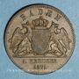 Coins Bade. Frédéric I, grand duc (1856-1907). 1 Gedenkkreuzer 1871