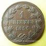 Coins Bade. Frédéric I, grand duc (1856-1907). 1 kreuzer 1856