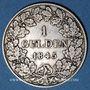 Coins Bavière. Louis I (1825-1848). 1 gulden 1845