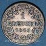 Coins Bavière. Louis I (1825-1848). 1 kreuzer 1845