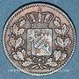 Coins Bavière. Louis II (1864-1886). 1 pfennig 1865