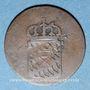 Coins Bavière. Maximilien I Joseph (1806-1825). 1 pf 1816