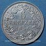 Coins Bavière. Maximilien II Joseph (1848-1864). 6 kreuzer 1856
