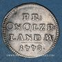 Coins Brandebourg-Ansbach. Alexandre (1757-1791). 2 1/2 kreuzer 1778