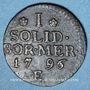 Coins Brandebourg-Prusse. Frédéric Guillaume II (1713-1740). 1 schilling 1796 E. Königsberg