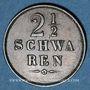 Coins Brême. 2 1/2 schwaren 1861