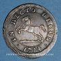 Coins Brunswick-Calenberg-Hanovre. Georges Louis (1698-1727). 4 mariengroschen 1714 HCB. Clausthal