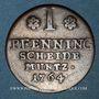 Coins Brunswick-Wolfenbüttel. Charles I (1735-1780). 1 pfennig 1764