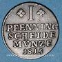Coins Brunswick-Wolfenbuttel. Frédéric Guillaume (1806-1815). 1 pfennig 1815 FR