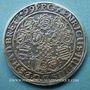 Coins Brunswick-Wolfenbüttel. Henri Jules (1589-1613). Wasptaler (taler aux abeilles) 1599. Goslar