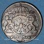 Coins Clèves. Frédéric II de Brandebourg (1740-1786). 1/4 stuber 1753 C
