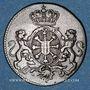 Coins Clèves. Frédéric II de Brandebourg (1740-1786). Duit 1750