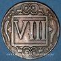 Coins Coesfeld. Ville. 8 pfennig 1713