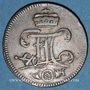 Coins Erfurt. Ville. 3 pfennig 1760
