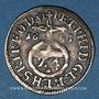 Coins Evêché de Bamberg. Pierre Philippe de Dernbach (1672-1683). 1/24 taler 1633 AL