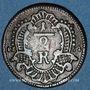 Coins Evêché de Wurzbourg. Adam Frédéric de Seinsheim (1755-1779). 1/2 kreuzer 1762