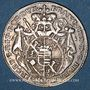 Coins Evêché de Wurzbourg. Adam Frédéric de Seinsheim (1755-1779). 3 kreuzer 1795
