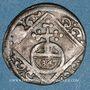 Coins Evêché de Wurzbourg. Christophe François de Hutten (1724-1729). 1/84 gulden (= körting) 1728