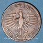 Coins Francfort. Ville. 1 heller 1841