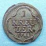 Coins Francfort. Ville. 1 kreuzer 1788G PCBN