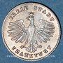 Coins Francfort. Ville. 1 kreuzer (1839)