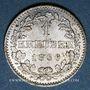 Coins Francfort. Ville. 1 kreuzer 1866