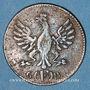 Coins Francfort. Ville. 1 pfennig 1793