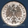 Coins Francfort. Ville. 6 kreuzer 1848