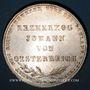 Coins Francfort. Ville. Double gulden 1848