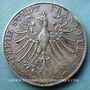 Coins Francfort. Ville. Double gulden 1849