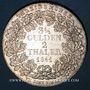 Coins Francfort. Ville. Double taler 1841