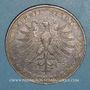 Coins Francfort. Ville. Double taler 1854