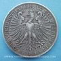 Coins Francfort. Ville. Double taler 1861