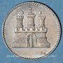 Coins Hambourg. Ville. 1 sechsling (= 6 pfennig) 1855