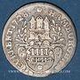 Coins Hambourg. Ville. 4 schilling 1728 IHL
