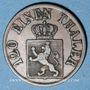 Coins Hesse-Cassel. Frédéric Guillaume (1847-1866). 3 heller 1861