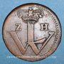 Coins Hesse-Cassel. Guillaume VIII (1751-1760). 1 heller 1755