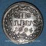 Coins Hesse-Darmstadt. Ernest Louis (1678-1739). 2 albus 1694 IAR