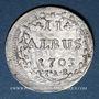 Coins Hesse-Darmstadt. Ernest Louis (1678-1739). 2 albus 1703 IAR