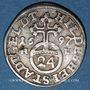 Coins Hildesheim. Ville. 1/24 taler 1697 HL