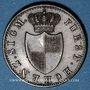 Coins Hohenzollern-Sigmaringen. Charles (1831-1848). 1 kreuzer 1842