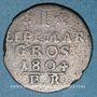 Coins Lippe-Detmold. Paul Alexandre Léopold (1802-51). 1 mariengroschen 1804