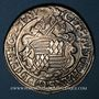Coins Mansfeld-Schraplau. Gebhard VII, Jean Georges I et Pierre Ernest (1547-1558). Taler 1552. Eisleben