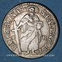 Coins Münster. Evêché. Clément Auguste de Bavière (1719-1761). 2 schilling (= 1/14 taler) 1755 IK