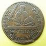 Coins Munster. Monnayage de la Cathédrale. 3 pfennig 1753