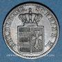 Coins Oldenbourg. Nicolas Frédéric Pierre (1853-1900). 1 groschen 1858 B